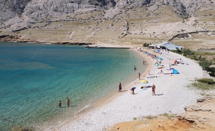 Beach Vela Luka Baška Krk