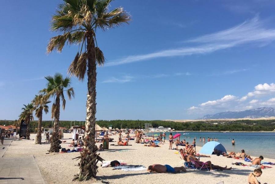 Plaža Zrće Pag