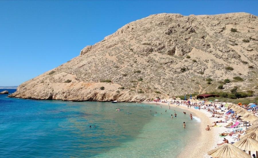 Plaža Oprna Krk