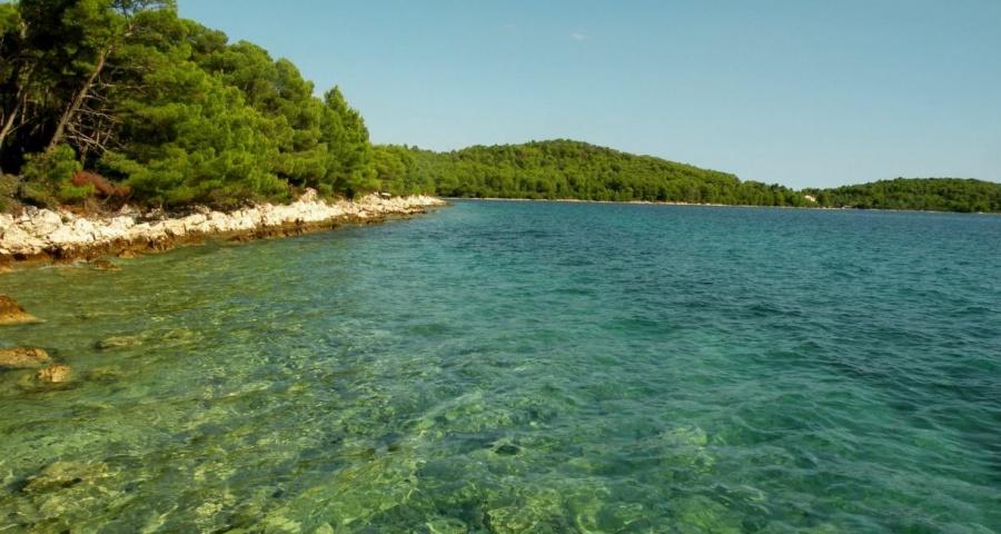 Mala Sabuša otok Ugljan