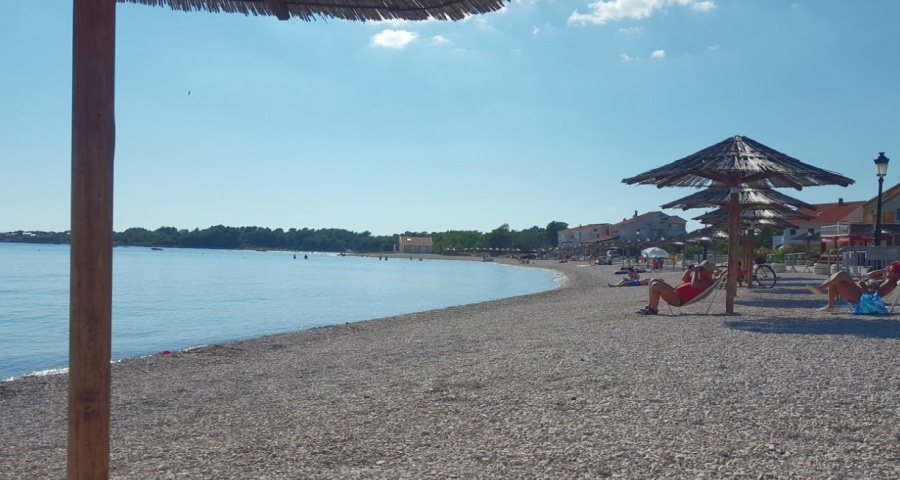 Beach Jadro Island Vir Croatia