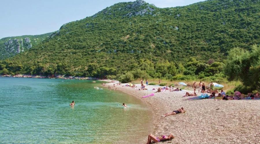Plaža Duba Pelješac slike