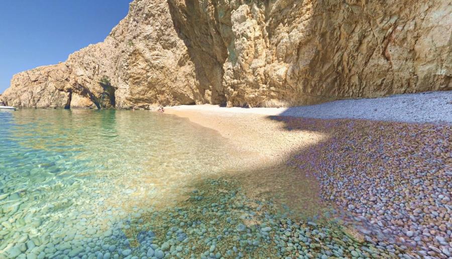 Krk beach
