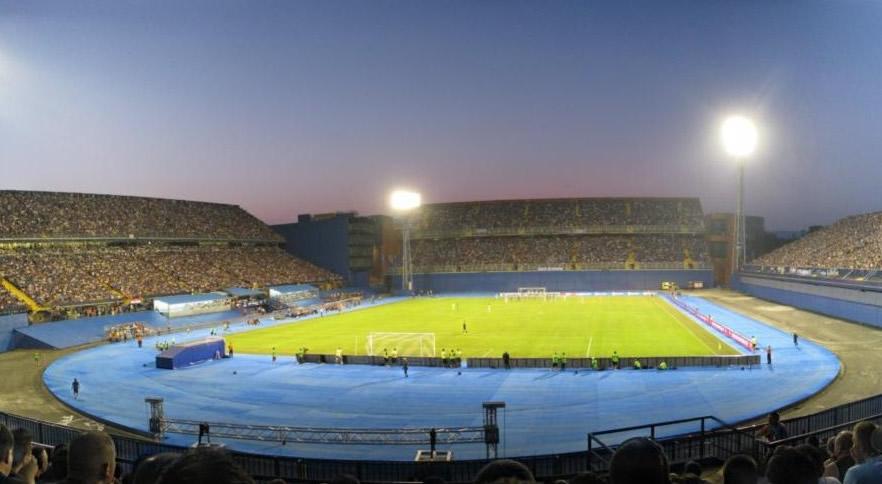 Stadion Maksimir Zagreb Kapacitet Sektori I Raspored Sjedenja