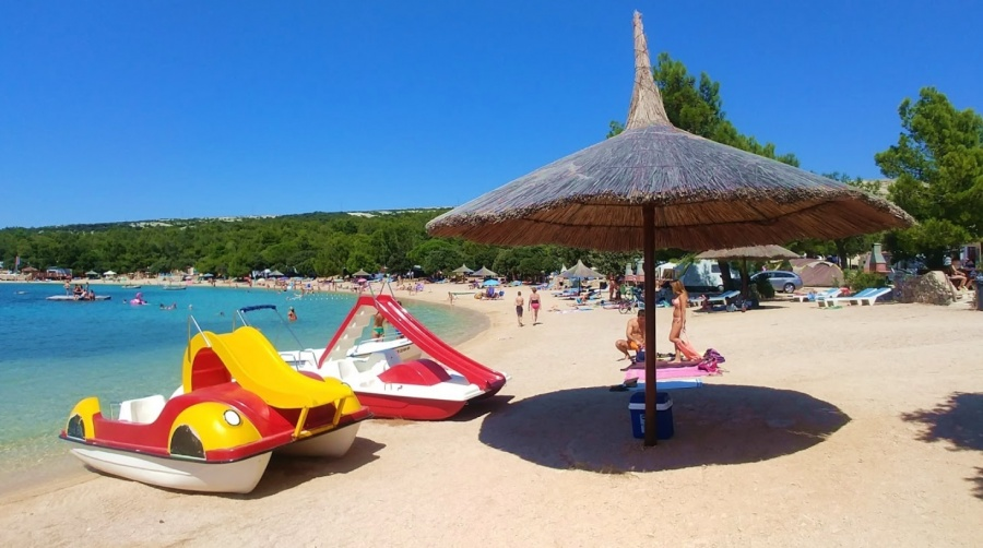 Camp Šimuni Beach