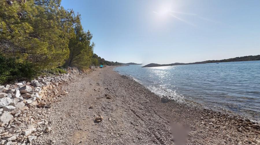 Plaža Kolentum Murter Hrvatska