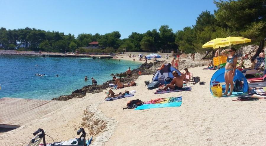 Plaža Labduša Čiovo ebach