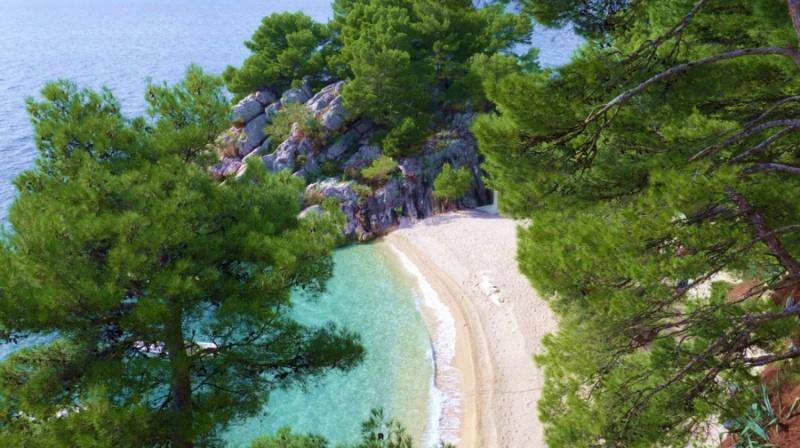 Makarska rivijera Plaže