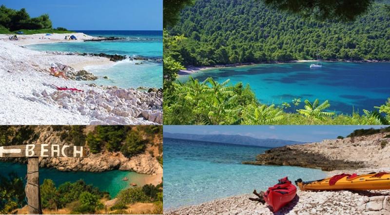 Nalijepše plaže Hrvatske na Jadranu