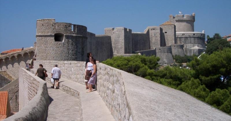 Dubrovačke zidine što raditi i vidjeti u Dubrovniku