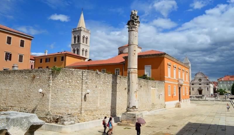 Rimski forum Zadar