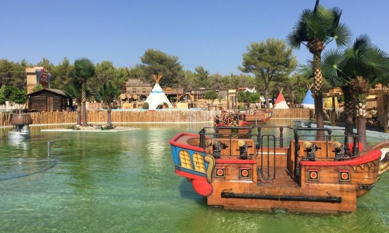 Pirate battle biogradski park zabavni
