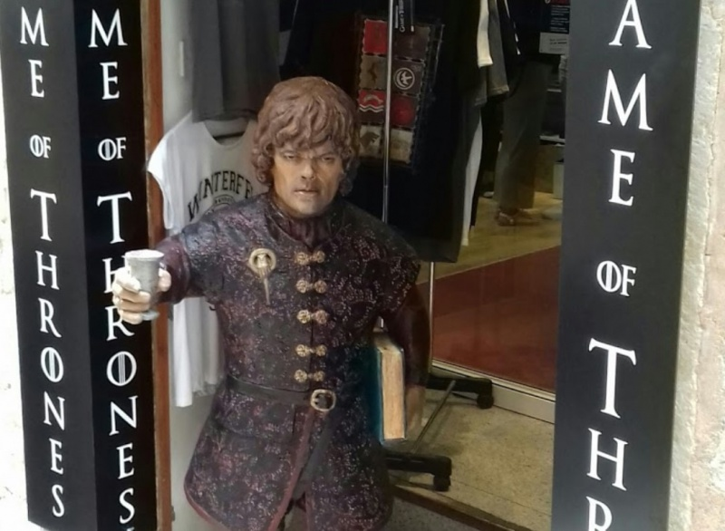 Game of thrones souvenir shop