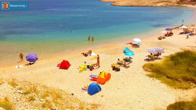 Plaža Beach Ručica Pag