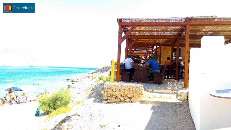 Beach bar Ručica Metajna