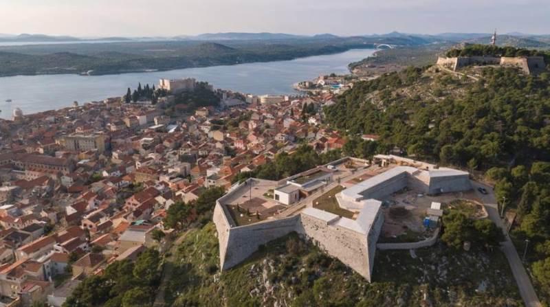 Tvrđava Šubićevas Šibenik what to visit what to see Šibenik