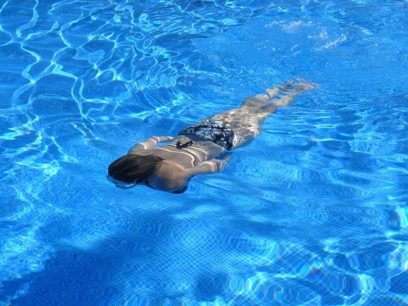 Schwimmen Meerestemperatur