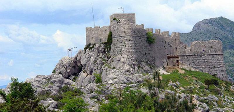 Tvrđava fortica omiš